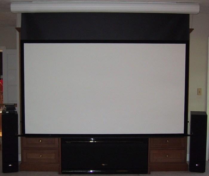 Seymour AV | Retractable Center Stage Screens